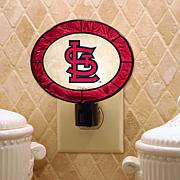 Team Glass Nightlight - St. Louis Cardinals
