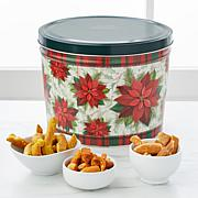 Tell City Pretzel Pieces 3 Flavors in Holiday Gift Tin
