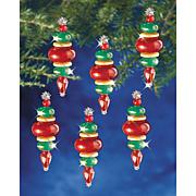 The Beadery Holiday Beaded Ornament Kit - Victorian Baubles