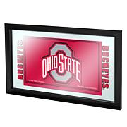 The Ohio State University Logo and Mascot Framed Mirror