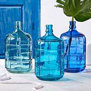 Two's Company Small Glass Water Jugs - Set 3