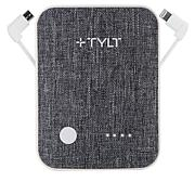 TYLT Xcele 3 6,700mAh Power Bank w/Built-in Wall Prongs & Connectors
