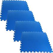 Ultimate Comfort Blue Foam Flooring - 4-piece