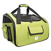 Ultra-Lock Collapsible Travel Folding Pet Car Seat Carrier