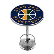 Utah Jazz NBA Chrome Pub Table