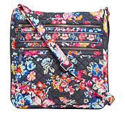 Vera Bradley Iconic Triple-Zip Hipster Bag