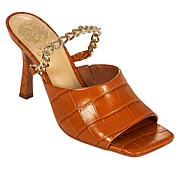 Vince Camuto Baminie Leather Chain Mule