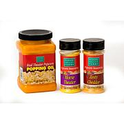 Wabash Valley Farms 3-piece Real Theater Coconut Oil and Seasoning Set
