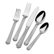 Wallace Tatum Frost 45-piece Flatware Set