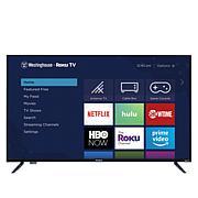 """Westinghouse 43"""" Smart HDTV w/Built-In Roku, 2-Year Warranty & Voucher"""