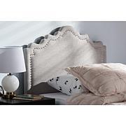 Wholesale Interiors Nadeen Fabric Upholstered Twin Size Headboard