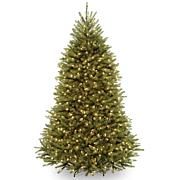 Winter Lane 6-1/2' Dunhill Fir Hinged Tree with Lights