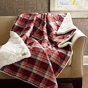 Woolrich Tasha Softspun Down Alternative Filled Throw