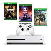 Xbox One S 1TB Console w/Call of Duty: Black Ops 4 + 2 Games