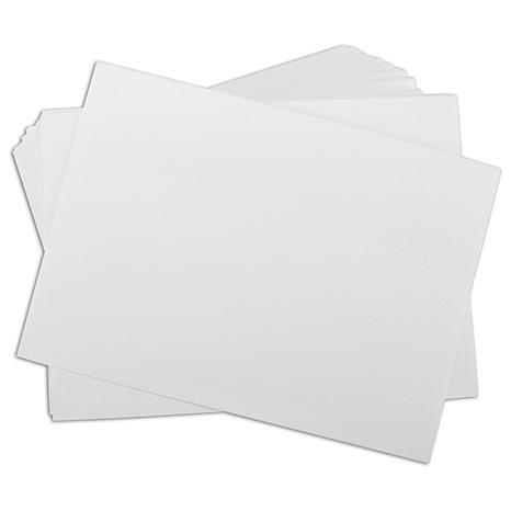 100 A7 Envelopes  - White