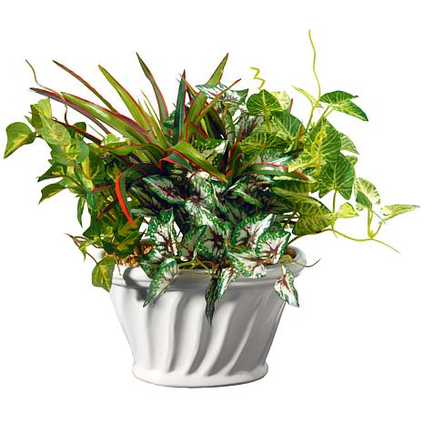 """11"""" Artificial Potted Plant"""