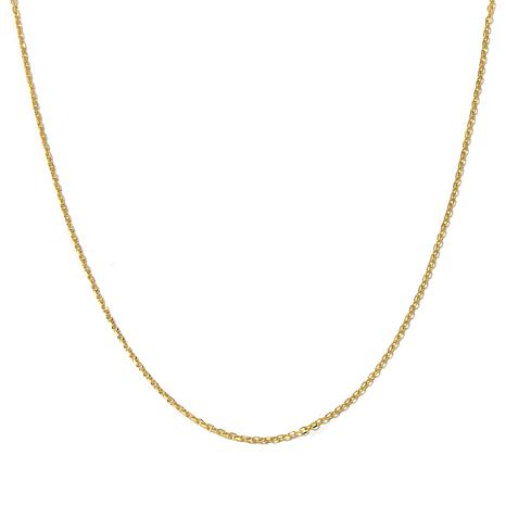 """14K 1.5mm Cable Chain 18"""" Necklace"""