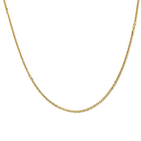 "14K 1.8mm Cable Chain 18"" Necklace"