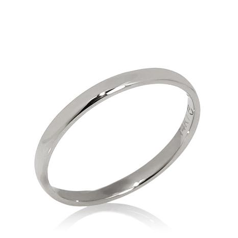 14K Gold 2mm High Polished Comfort Fit Band Ring