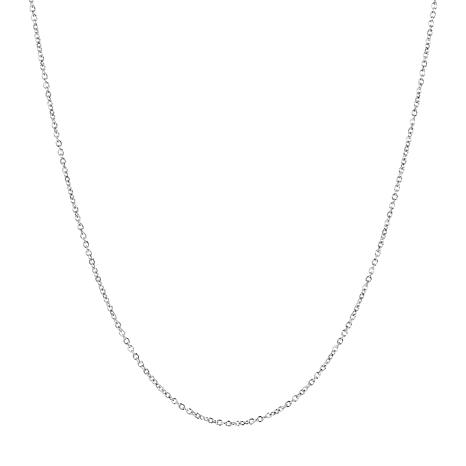 """15"""" 14K Gold Oval Rolo Chain"""