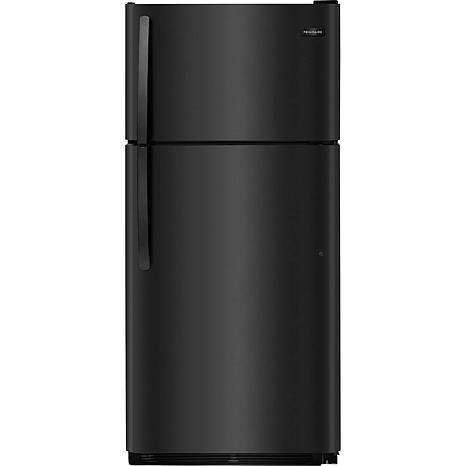 18 Cu. Ft. Top Freezer Refrigerator - Black