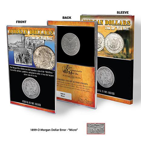 "1899 O-Mint Morgan Silver Dollar with ""Micro O"" Mark"