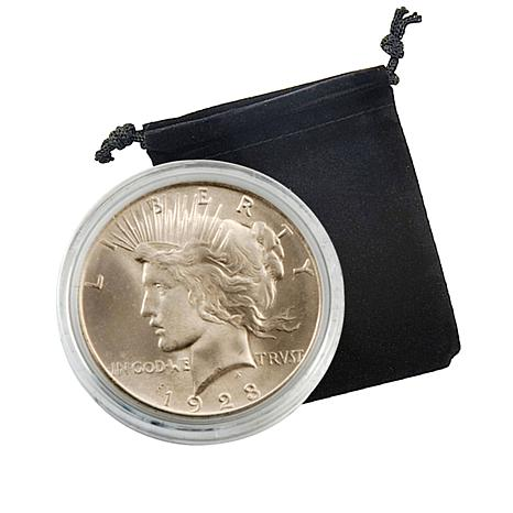 1923 P-Mint Uncirculated Silver Peace Dollar Coin