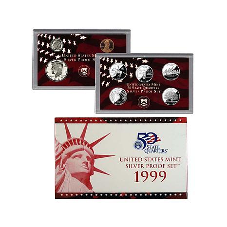 1999 San Francisco Mint Silver Proof Set