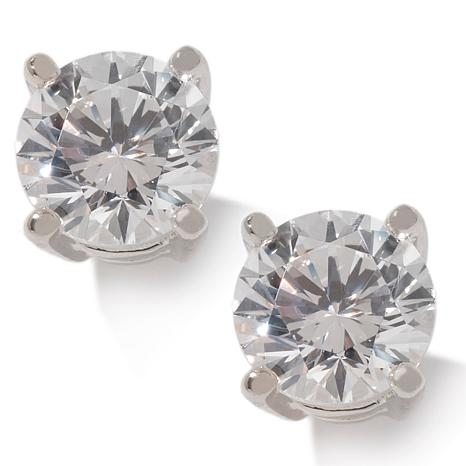 1ctw Absolute™ Round 4-Prong Stud Earrings