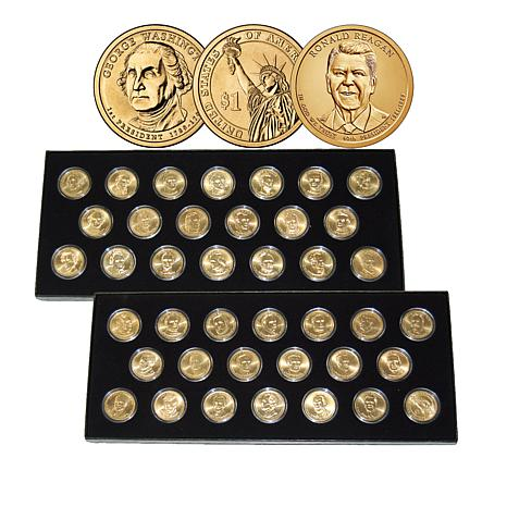 2007-2016 BU Complete 40-Coin Presidential Dollar Set