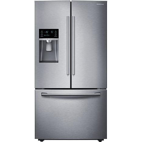 23 Cu. Ft. Counter-Depth French Door Refrigerator  Stainless Steel