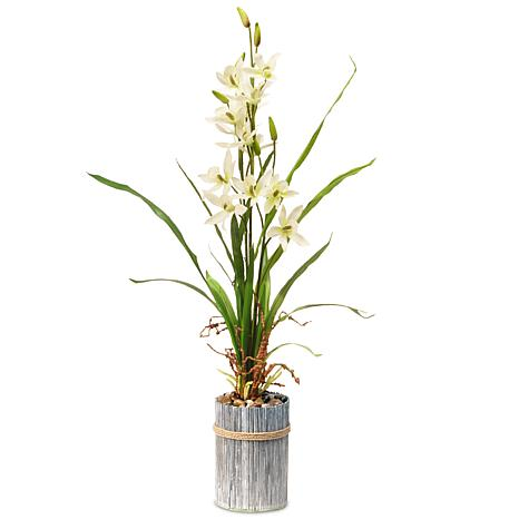 """30"""" Garden Accents Artificial Potted Flower"""