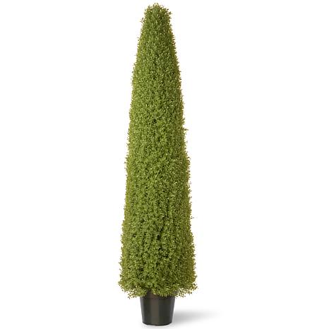 6' Artificial Topiary Boxwood Tree