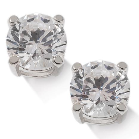 Absolute™ 3ctw Cubic Zirconia Round Stud Earrings