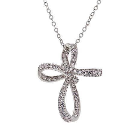 """Absolute™ """"Always and Forever"""" Ribbon Pendant with 18"""" Chain"""