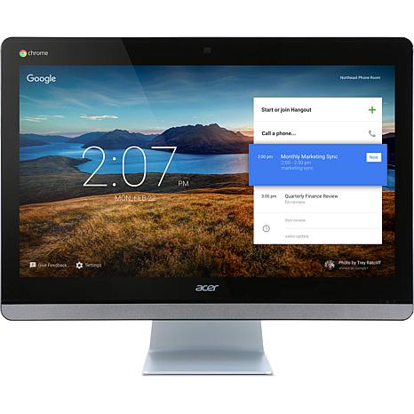 """Acer 23.8"""" Intel 4GB/16GB Chrome OS All-in-One PC"""