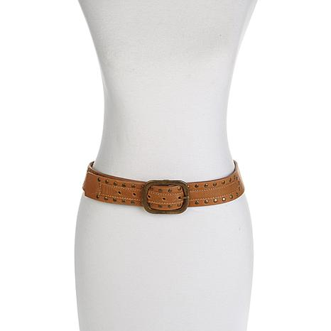 ADA Collection Bryn Studded Leather Belt