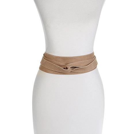 ADA Collection Classic Wrap Argentinean Leather Belt