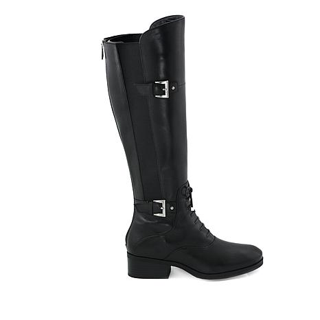 Adrienne Vittadini Moshiko Leather Boot
