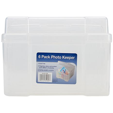 Advantus Storage Studios Photo Supply Case - Clear