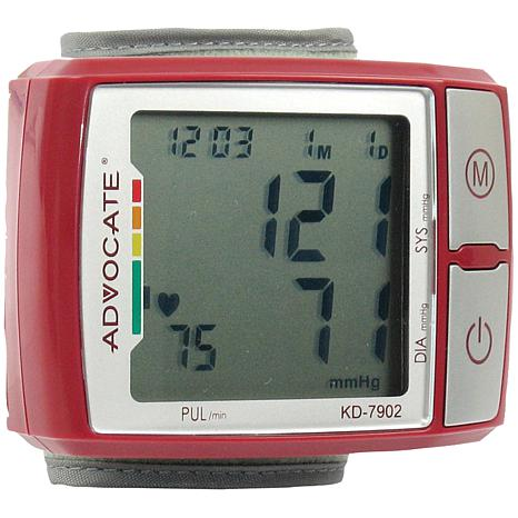 Advocate Wrist Blood Pressure Monitor with Indicator