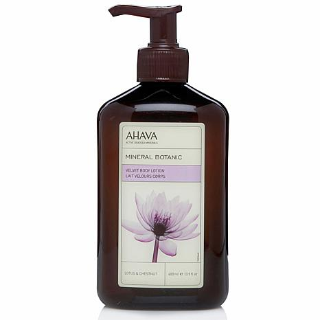 AHAVA Lotus and Chestnut Velvet Body Lotion