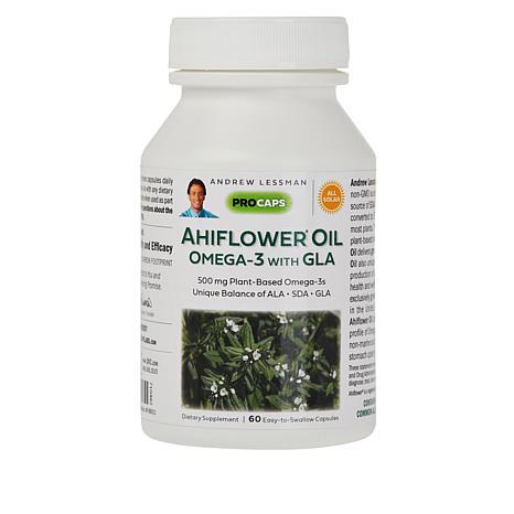 Ahiflower® Oil Omega-3 - 60 Capsules