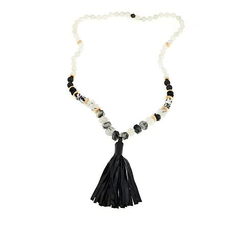 "Akola ""Debutant""  36"" Tassel Necklace"