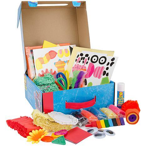 My giant busy box kit 7701662 hsn for Alex toys craft color a house children s kit