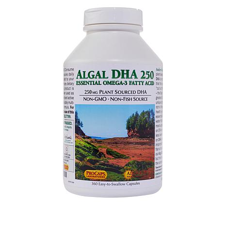 Algal DHA 250 - 360 Capsules