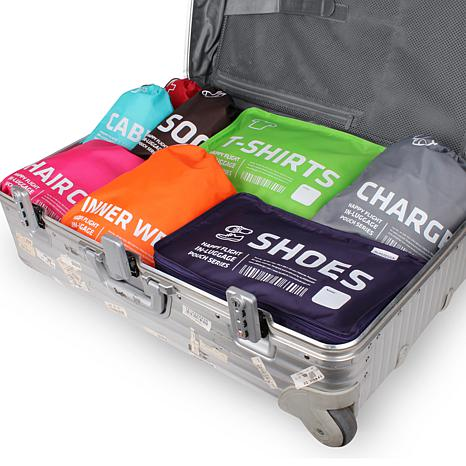 Alife™ Design Happy Flight In-Luggage Shoes Cube