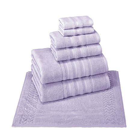Allure Turkish Cotton 6-piece Towel Set