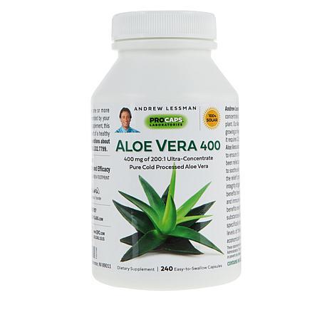 Aloe Vera 400 - 240 Capsules