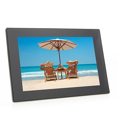 "Aluratek 10"" Digital Wi-Fi Touchscreen Photo Frame"